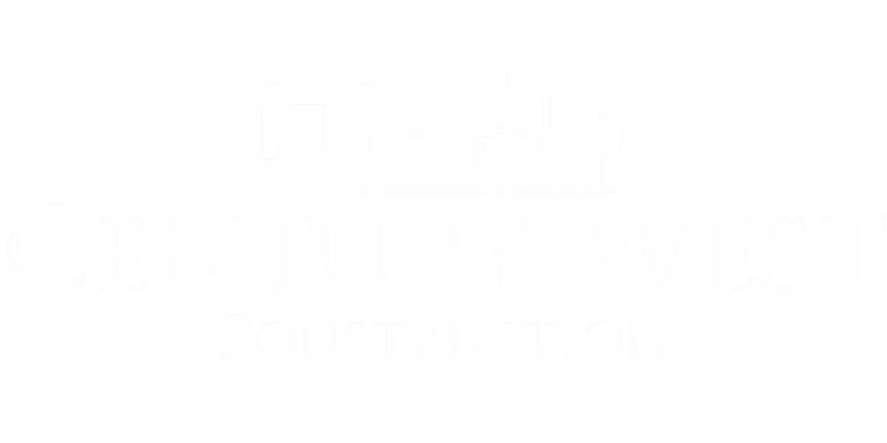 Century West Construction logo_White